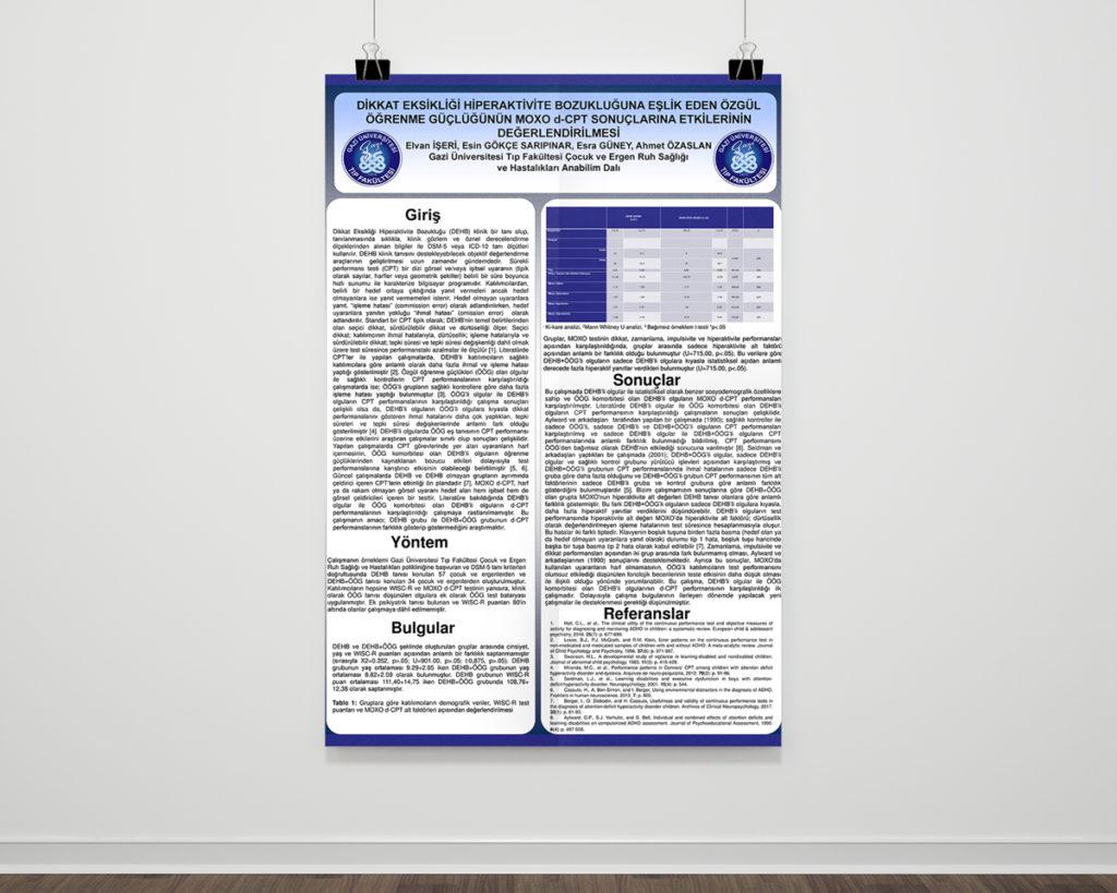 Özgül Öğrenme Güçlüğünün MOXO d-CPT Sonuçlarına Etkilerinin Değerlendirmesi