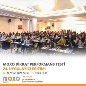 24. Uygulayıcı Eğitimi Toplantısı – 12 Nisan 2020, İstanbul