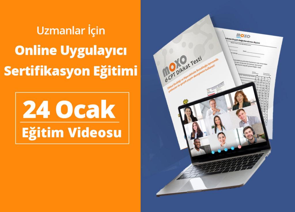 24 Ocak 2021 Online Uygulayıcı Sertifikasyon Eğitimi Yayını
